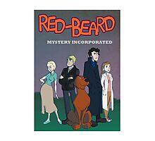 Red Beard Mystery Inc Photographic Print