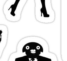 RAD Macabre Sticker Sheet Sticker