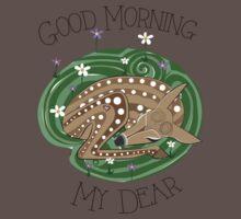Good Morning Deer One Piece - Short Sleeve