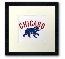 Chicago Cubs Framed Print