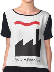 FACTORY RECORDS Chiffon Top