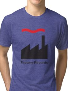 FACTORY RECORDS Tri-blend T-Shirt