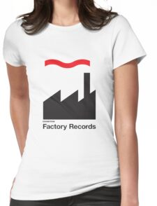 FACTORY RECORDS Womens Fitted T-Shirt
