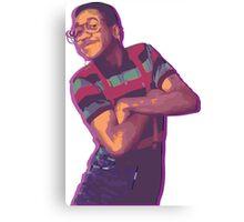Purple Urkel - Weed Canvas Print