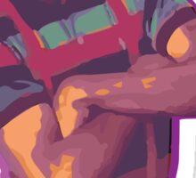 Purple Urkel - Weed Sticker