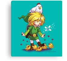 Cucco Fans - Legend of Zelda Canvas Print
