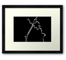 Nature's Abstract ~ The Javelin Thrower Framed Print