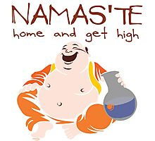 Namaste - Home and Get High Photographic Print