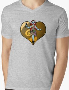 Spooky Sally Love Mens V-Neck T-Shirt