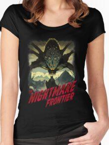 THE NIGHTMARE FRONTIER Women's Fitted Scoop T-Shirt