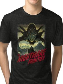 THE NIGHTMARE FRONTIER Tri-blend T-Shirt