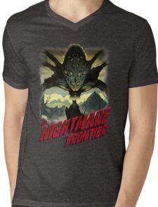 THE NIGHTMARE FRONTIER Mens V-Neck T-Shirt