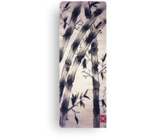 Bamboo Scroll Canvas Print