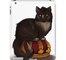 Crowley Cat on his Crown iPad Case/Skin
