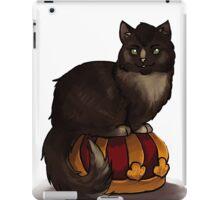 Crowley Cat on his Crown iPad Case/Skin
