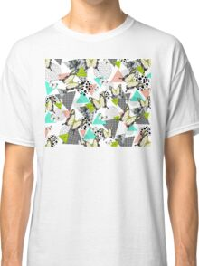 Triangles & butterflies Classic T-Shirt