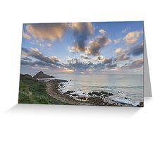 Sugarloaf Sunset Greeting Card
