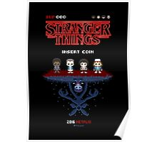 16-bit Stranger Things Poster