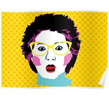Lee Lin Chin for PM Pop Art Poster
