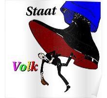 Staat/Volk Poster
