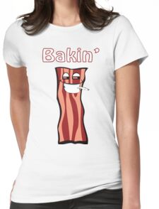 Bacon - Bakin Womens Fitted T-Shirt