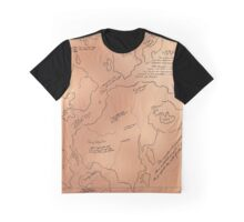 The Hidden Continents Graphic T-Shirt