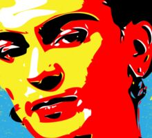 Frida Kahlo - Feminist Icon - Pop Art Sticker