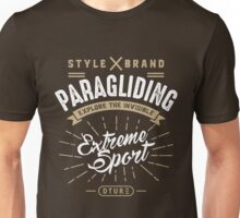 Paragliding Extreme Sport Unisex T-Shirt