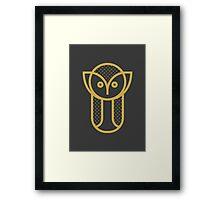 Owl Animal Print Framed Print