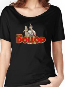 THE DOLLOP Women's Relaxed Fit T-Shirt