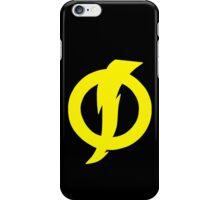 Static Shock Symbol iPhone Case/Skin