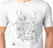 Massed Flowers Unisex T-Shirt