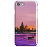 Dusk at the Lake iPhone Case/Skin