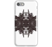 Mirrored Trees iPhone Case/Skin