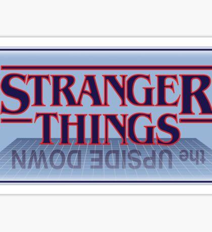 Stranger Things - Upside Down Blue Sticker