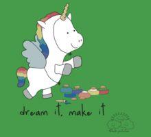 Dream it, make it One Piece - Short Sleeve