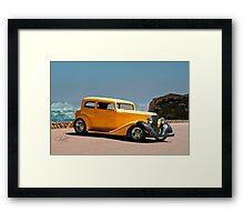 1934 Pontiac 8 Touring Sedan II Framed Print