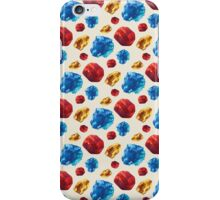 Primary Crystals iPhone Case/Skin
