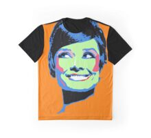 Audrey Hepburn - Retro Pop Art Graphic T-Shirt