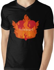 Fireheart Mens V-Neck T-Shirt