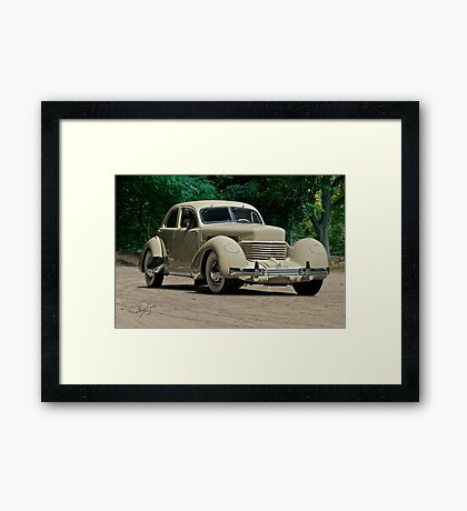1937 Cord Beverly Framed Print