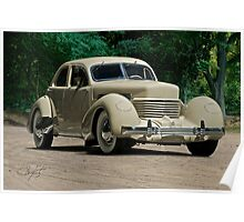 1937 Cord Beverly Poster