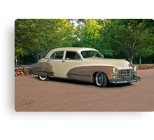 1947 Cadillac Series 61 Sedan Canvas Print