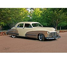 1947 Cadillac Series 61 Sedan Photographic Print