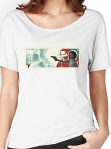 Uncharted 4   Nadine and Rafe Women's Relaxed Fit T-Shirt