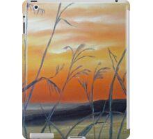 Tall Grass at Sunset iPad Case/Skin