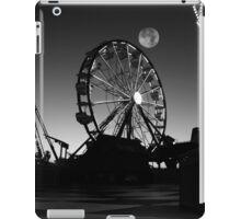 Ferris Wheel With Full Moon iPad Case/Skin
