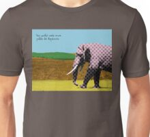 The world needs more polka dot elephants Unisex T-Shirt