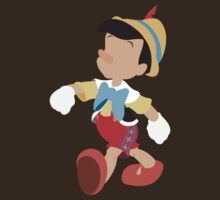 Pinocchio Illustration T-Shirt