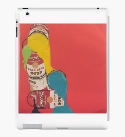Campbells paint cans iPad Case/Skin